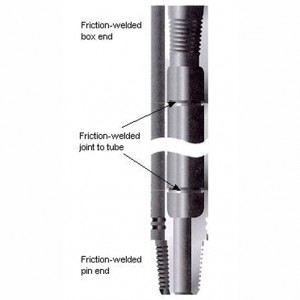 friction-welded-drill-rods